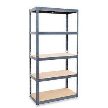 Adjustable stainless steel angle iron library shelving