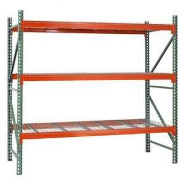 Heavy duty pallet racking with step beam for warehouse carton storage