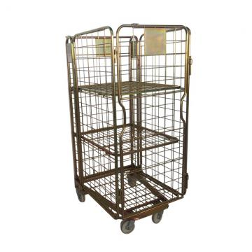 Sales Promotion Light Duty Shelf 4 tier / Cold Room Warehouse Shelving / Steel Rack storage shelf