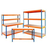 commercial liquor and spirits metal retail store shelving